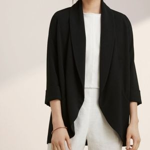 WILFRED Aritzia Chevalier Crepe Jacket S M